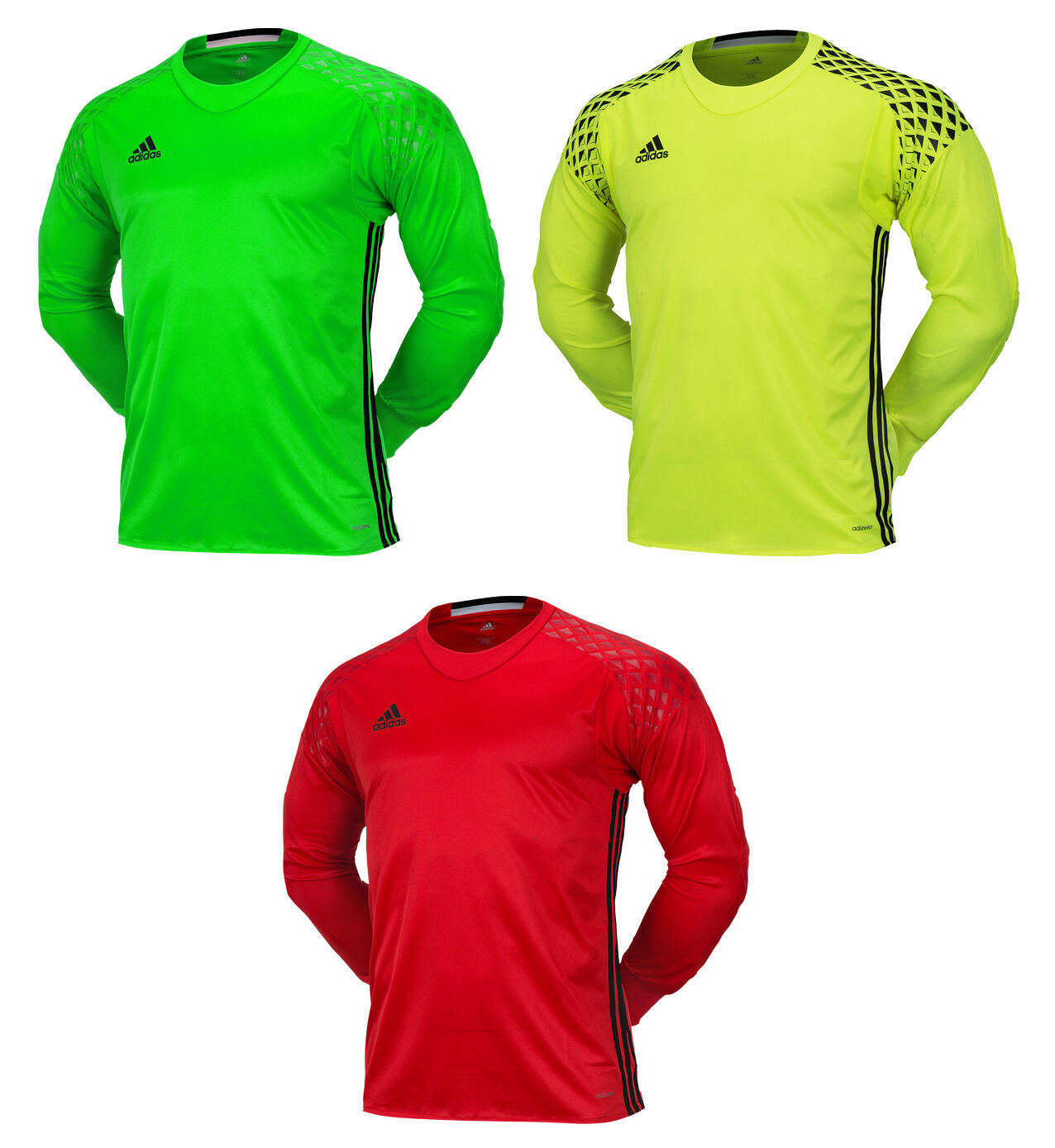 Adidas ONORE 16 GK L S Jersey T-Shirts Goalie Top Soccer Football Goal Keeper