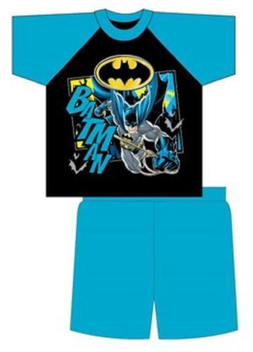 Garçons Pyjama Batman Pyjama d/'été T-shirt short pyjama coton 4 To 10 ans