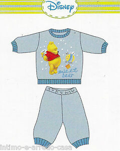 Pajamas Child Winnie Wd10683 Disney Baby Boy Sleeves Long Hot Cotton