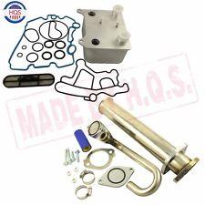EGR Delete Ki & Oil Cooler Kit For 2003-07 Ford F250 F350 E350 6.0L Diesel Turbo