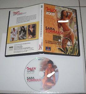 Calendario Sara Tommasi 2007.Dettagli Su Dvd Sara Tommasi By Giovanni Cozzi 2007 Backstage Max Sexy Calendar Calendario