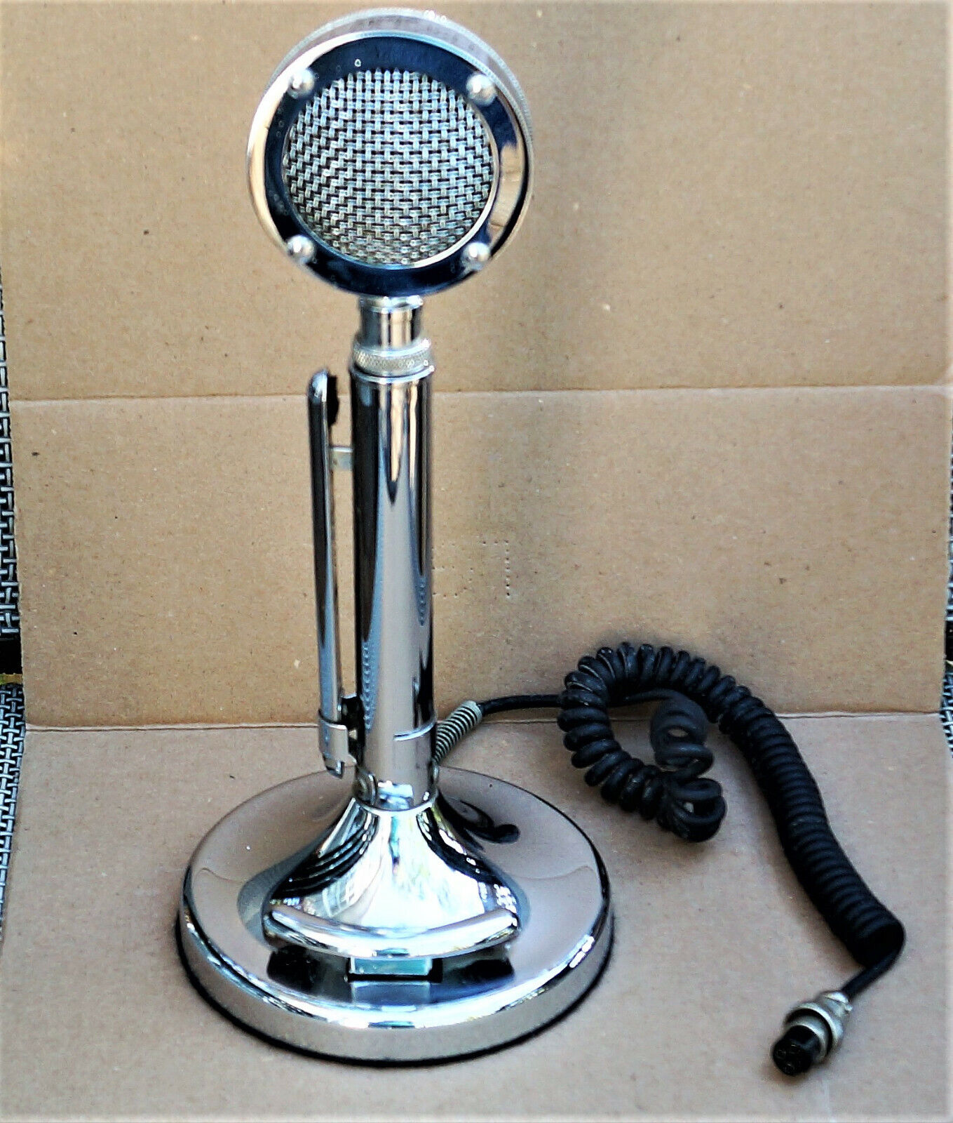 D104 Silver Eagle Microphone Nice One! Astatic Lolipop Mic . Buy it now for 225.00