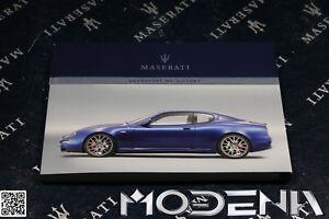 Betriebsanleitung Handbuch Bordbuch Owners Manual Maserati Quattroporte S QP V