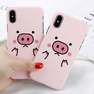 info for b41db 2f747 Details about Cartoon Pink Pig Cute Funny Hard Phone Case Cover For iPhone  X 5S 6/6S 7 8 Plus