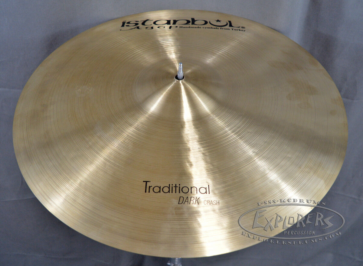 Istanbul Agop Traditional Series 19  Dark Crash Cymbal - DC19