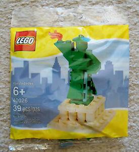 LEGO-Rare-Statue-Of-Liberty-40026-New-amp-Sealed