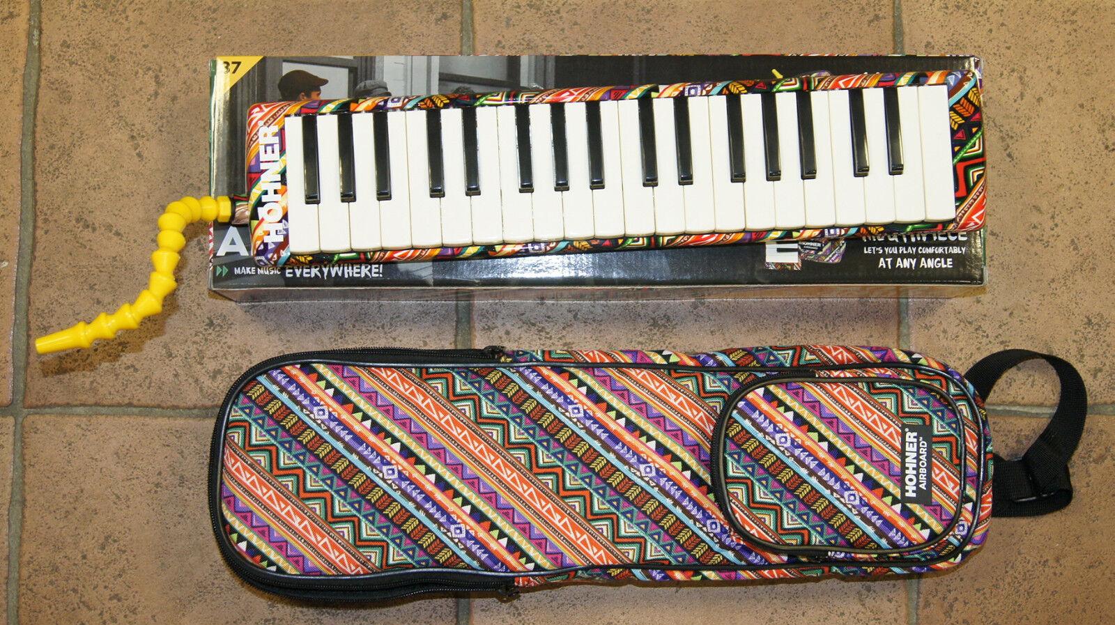 Melodica Melodica Melodica Piano Hohner Airboard llaves 32 o 37 Notas Instrumento Nuevo Con Estuche d69e94
