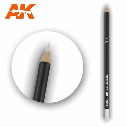Weathering Pencil Dirty White AK Interactive 10005 Modeling Accessory