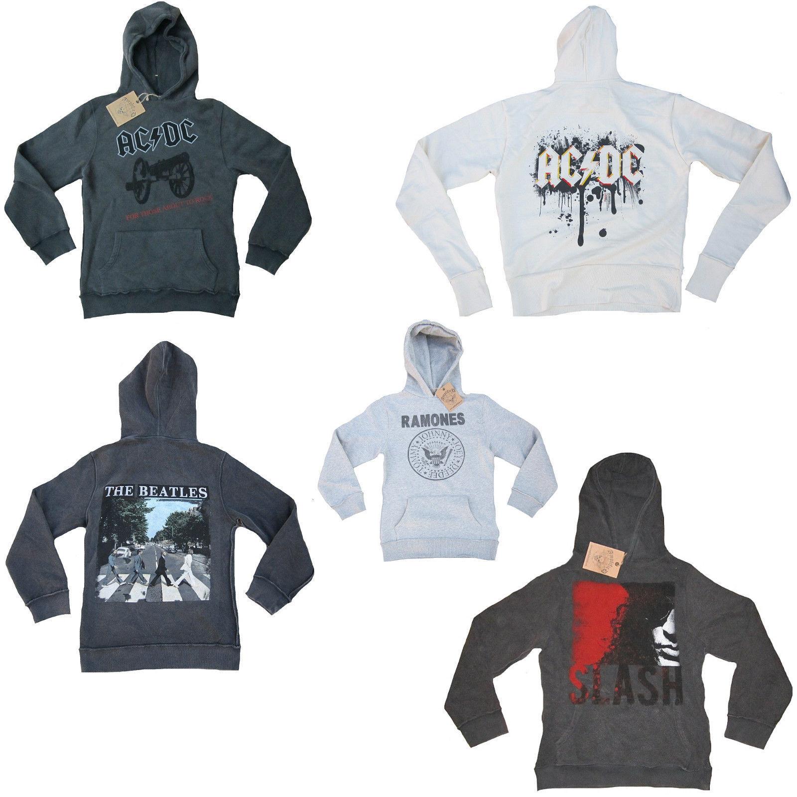 Amplified Official licence Felpa Hoodie Sweater Jumper Con Cappuccio Maglione WOW