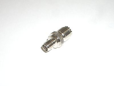 WORKMAN 40-7832 SMA FEMALE TO MINI UHF FEMALE CONNECTOR ADAPTER