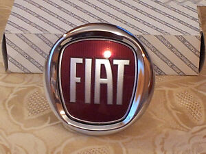 FREGIO-POSTERIORE-FIAT-NUOVA-BRAVO-PUSH-95mm-ORIGINALE-stemma-rear-badge-escudo