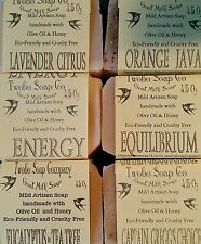Handmade  Goat Milk Soaps with essential oil blends  +  samples FREE SHIPPING