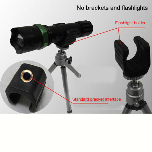 Angelrute Verschraubung für Taschenlampe U Form Halterung Night Stativ Teile
