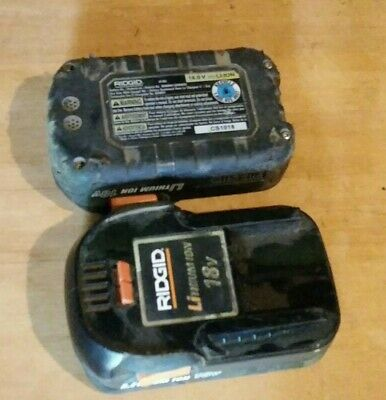 RIDGID 18V Lithium-Ion 2.0 Ah Battery and Charger Kit R87002 R86093