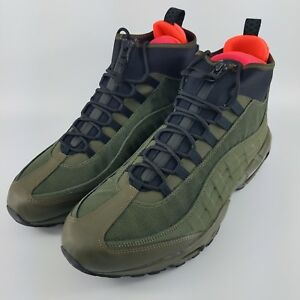 83f8df7ae2 Nike Air Max 95 Sneakerboot - Olive / Black / Cargo - 806809-300 ...