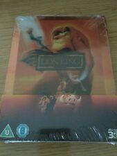 Steelbook 3D y 2D El Rey Leon Blu ray Disney