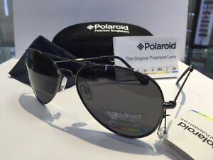 POLAROID-OCCHIALE-SOLE-AVIATOR-04213C-A4XY2-GRIGIO-CLASSICO-POLARIZZATO-NUOVO