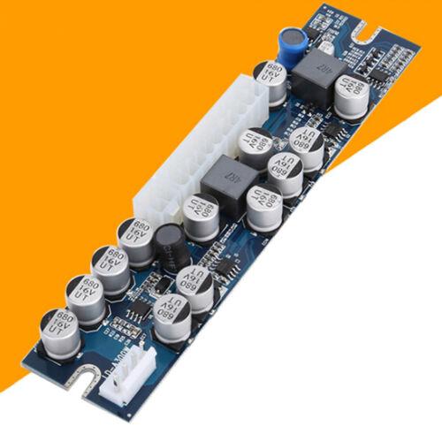 DC 12V 300W pico atx switch mining psu 24pin mini dc to car pc Power supplyTB