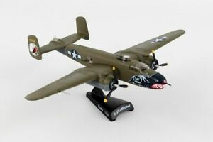 POSTAGE-STAMP-USAAF-B-25J-034-BETTY-039-S-DREAM-034-1-100-SCALE-DIECAST-METAL-MODEL