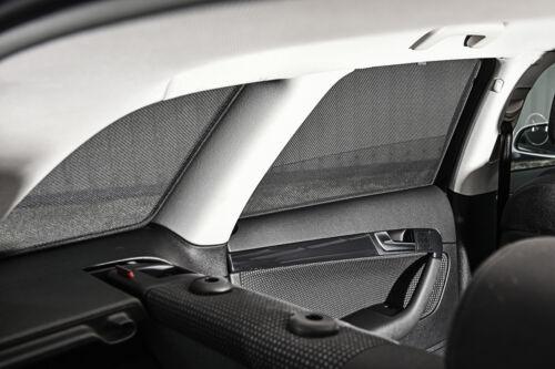 MERCEDES Vito 15 /> W447 XLWB UV Tonalità Auto FINESTRA TENDINE Privacy Tinta Vetro Nero