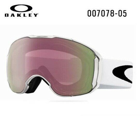 ba54d069cd Oakley Airbrake XL (Asian Fit) White Prizm HI Pink Iridium SNOW GOGGLE  OO7078-