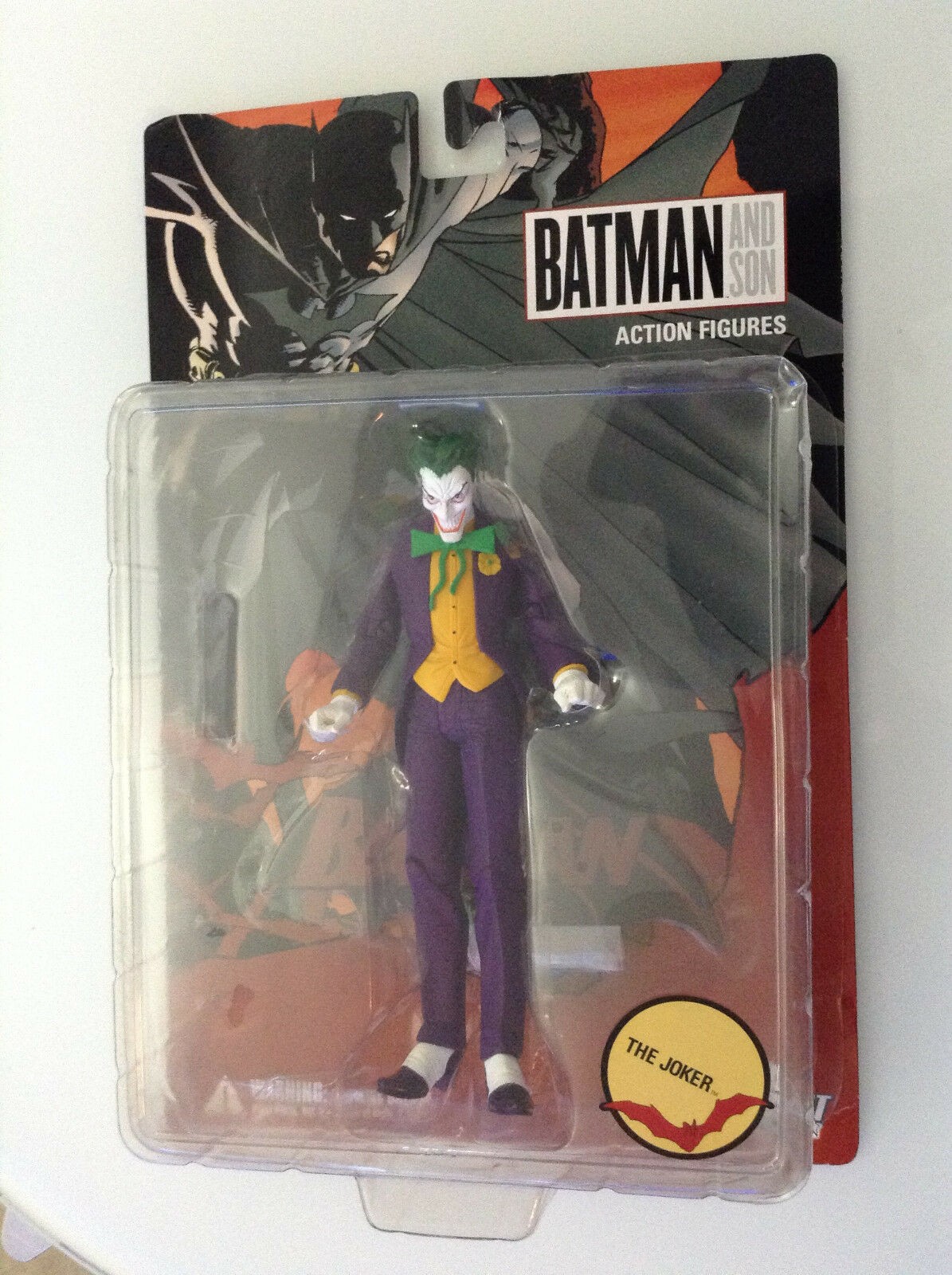 BATMAN AND SON THE JOKER ACTION FIGURE DC DIRECT DIRECT DIRECT NEW(52 REBIRTH STATUE DAMIAN 13 db6db3