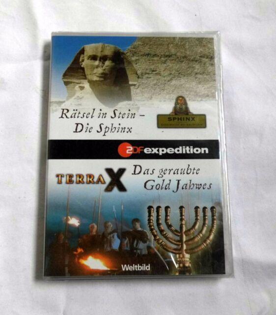 Rätsel in Stein - Die Sphinx / Das geraubte Gold Jahwes - TERRA X - Neuware