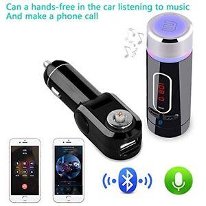 1x-Kit-Manos-Libres-Bluetooth-Inalambrico-Transmisor-FM-MP3-Player-SD-USB
