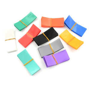 20PCS-18650-Battery-Wrap-PVC-Heat-Shrink-Tubing-Pre-cut-Precut-T-tc