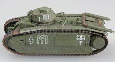 FREE FRENCH CHAR B1 WW2 HEAVY TANK 1/72 EASY MODEL PREBUILT  #36157