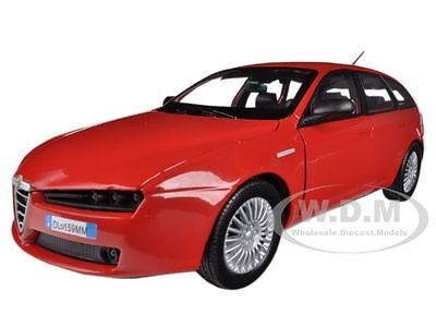 ALFA ROMEO 159 SW RED 1/24 DIECAST MODEL CAR BY MOTORMAX 73372
