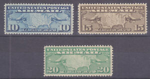 US-Sc-C7-C9-MNH-1926-1927-Air-Post-complete-VF