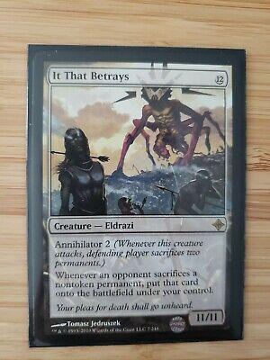It That Betrays FOIL Rise of the Eldrazi Rare MTG Magic the Gathering Card