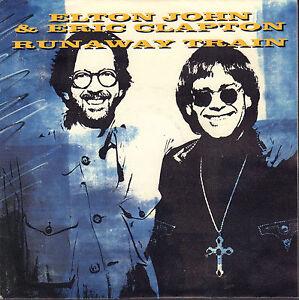 ELTON-JOHN-amp-ERIC-CLAPTON-Runaway-Train-1992-VINYL-SINGLE-7-034-EUROPE