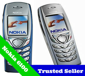 ORIGINAL-Nokia-6100-Mobile-Cell-Phone-Package-Unlocked-6-Month-Warranty