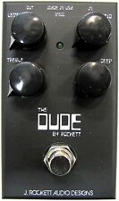 Used J. Rockett The Dude Overdrive Dumble Guitar Effects Pedal!