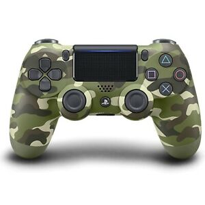 Sony-Dualshock-4-Wireless-Controller-for-PlayStation-4-Green-Camouflage-V2