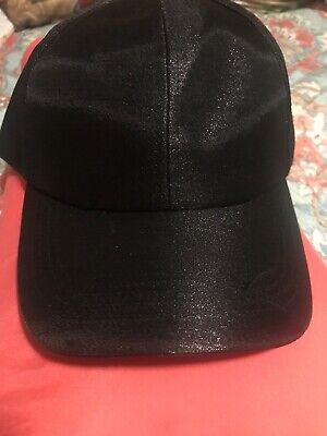Pink Multi Collection XIIX 18 Women/'s Satin Floral Print Baseball Cap Hat