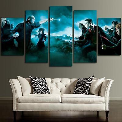 5 Panel Galatasaray Harry Potter Knight Wall Art Canvas