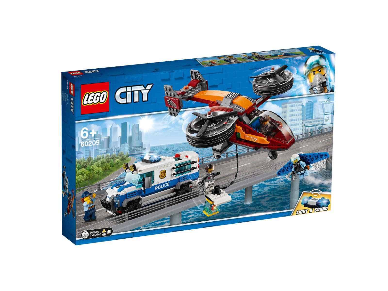 Lego City 60209 Polizei Diamantenraub NEU OVP