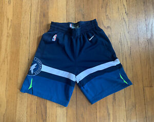 Minnesota-Timberwolves-Authentic-Nike-Aeroswift-Basketball-Shorts-Mens-30-S-EUC
