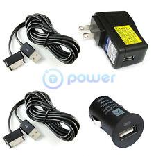 Ac Adapter+Car Charger fo SAMSUNG GALAXY TAB SGH-I987 SGH-T849 SGH-T859 SGH-T869