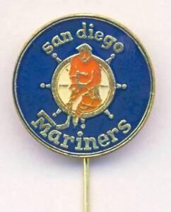 old-SAN-DIEGO-MARINERS-ice-hockey-PIN-badge-WHA-California