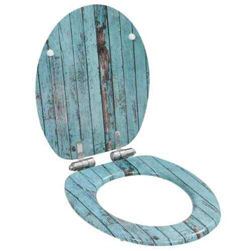 vidaXL Toilettensitz MDF WC Sitz Klodeckel Toilettendeckel mehrere Auswahl