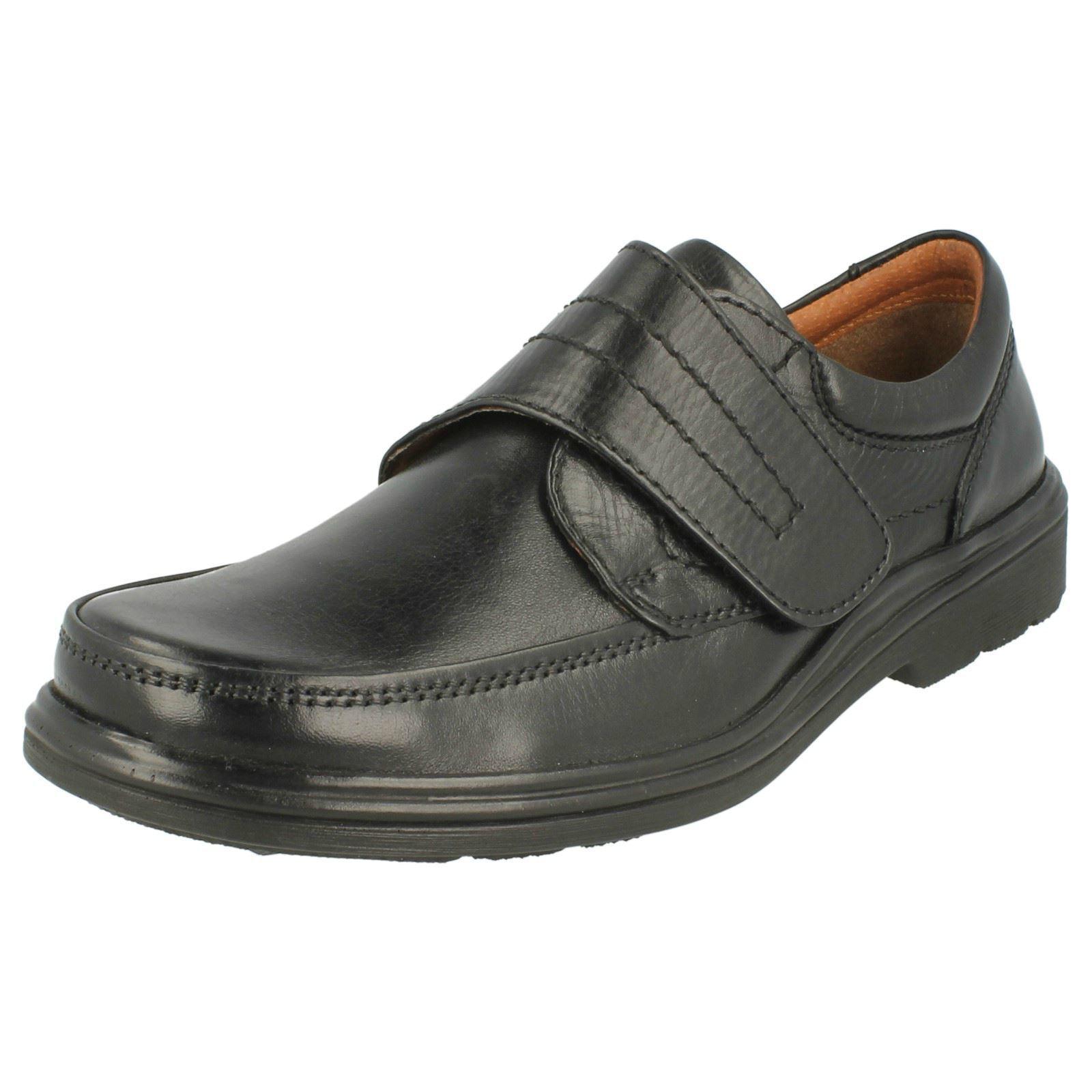MAVERICK A1108 chaussures NOIR HOMMES riptape 100% chaussures A1108 cuir e41005