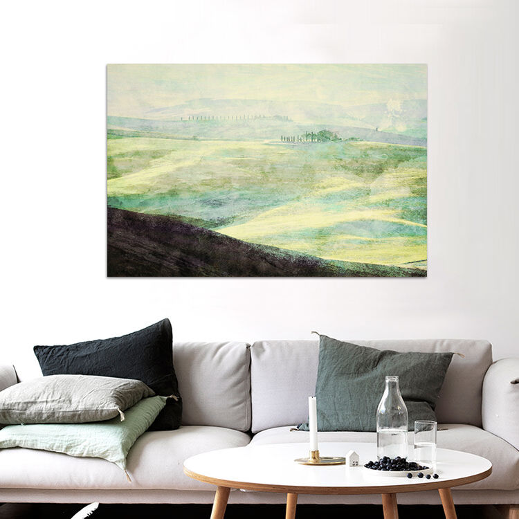3D Nebel Hang Waldland 9564 Fototapeten Wandbild BildTapete AJSTORE DE Lemon