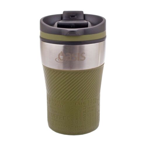 Oasis Stainless Steel Double Wall Eco Cup Coffee Tea Reusable Thermal