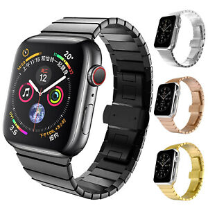 40 44mm Stainless Steel Iwatch Strap For Apple Watch Band 38 42mm Series 5 4 3 2 Ebay