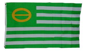 GREEN ECOLOGY FLAG PEACE FLAG FLAG 3 X 5 3X5 NEW