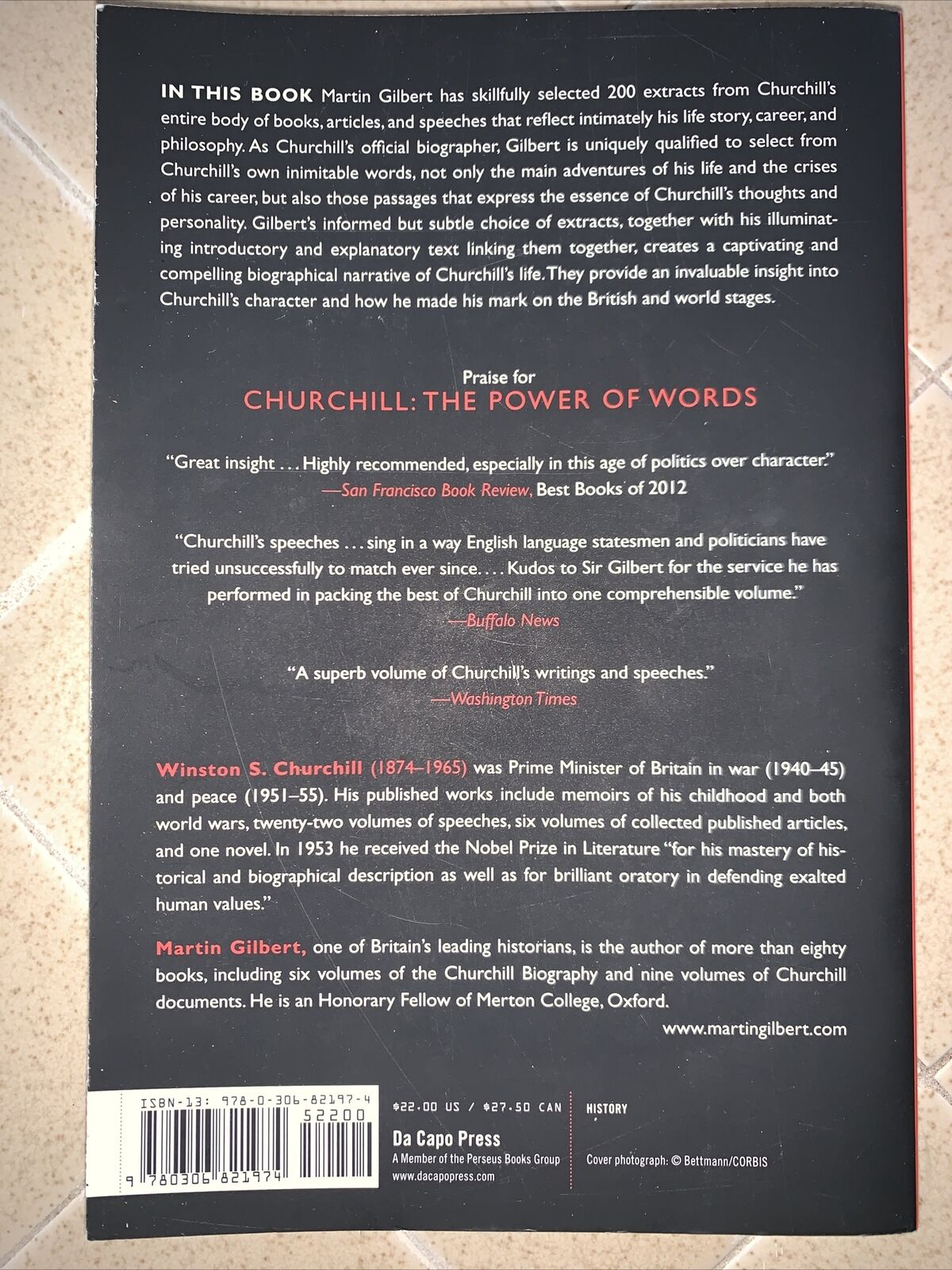 Churchill : The Power Of Words By Winston Churchill (2013, Trade Paperback)  For Sale Online   EBay